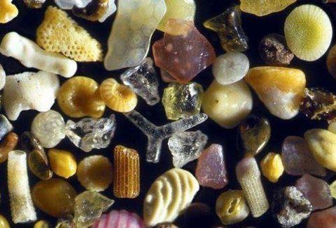 granos de arena